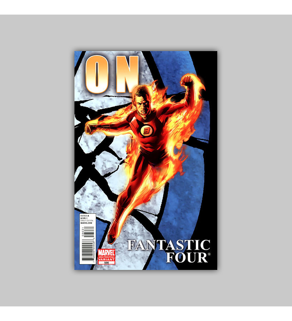 Fantastic Four (Vol. 3) 586 3rd printing 2011