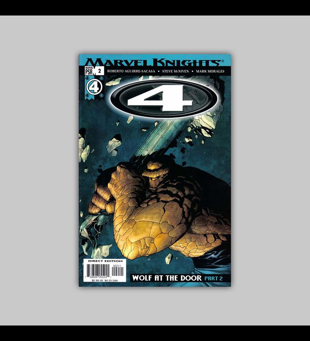 Marvel Knights 4 2 2004