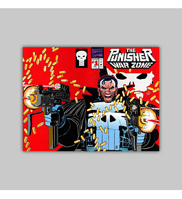 The Punisher War Zone 1 Embossed die-cut 1992