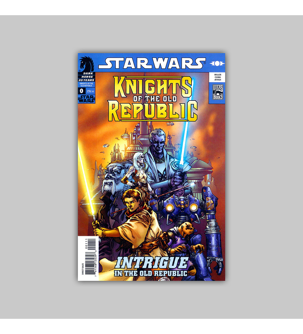Star Wars: Knights of the Old Republic/Rebellion 25-Cent Flip Book 0 2006