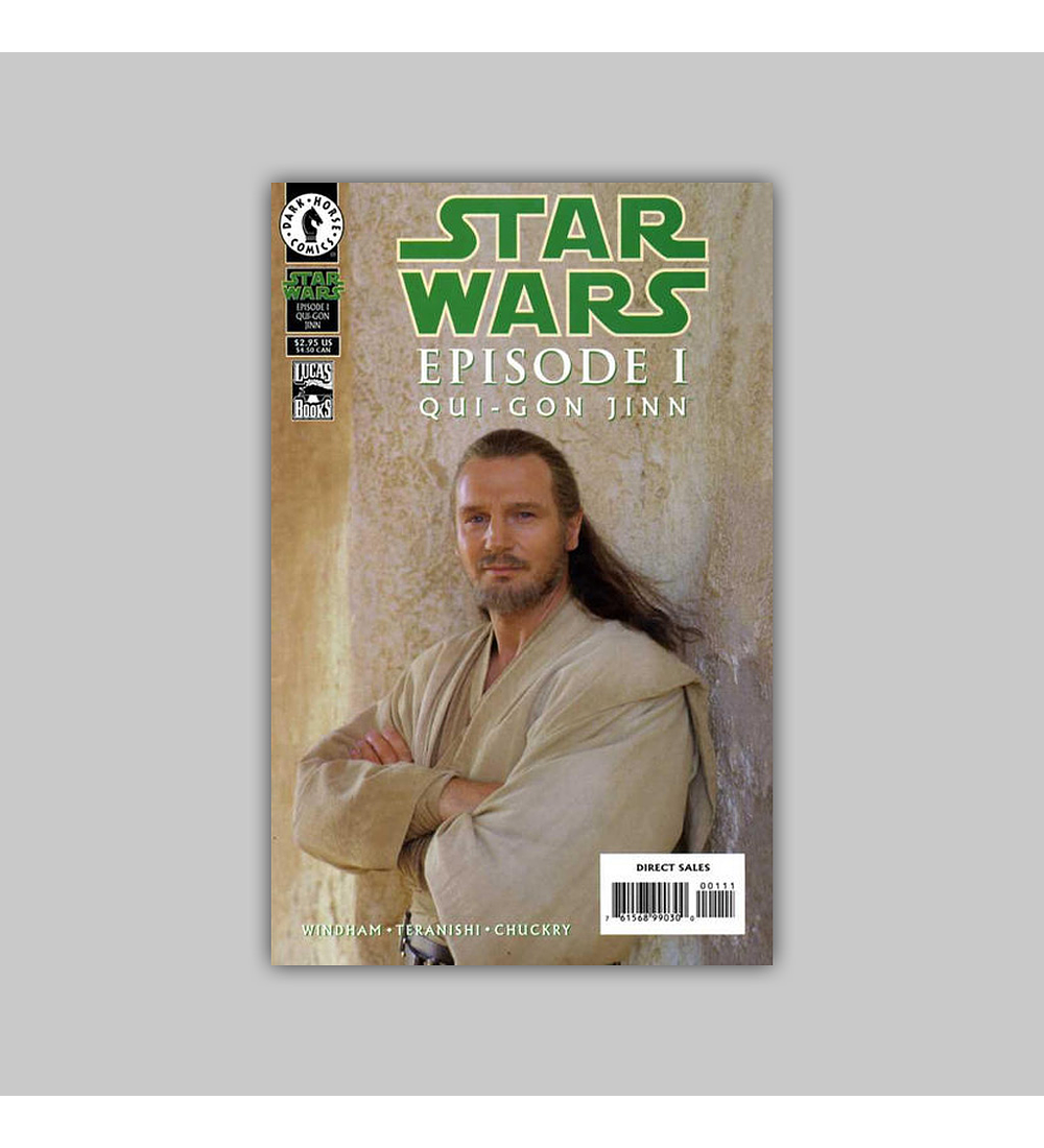 Star Wars: Episode I The Phantom Menace - Qui-Gon Jinn 1999