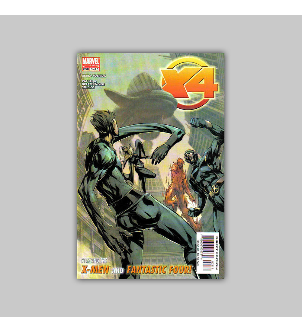 X-Men/Fantastic Four 3 2005