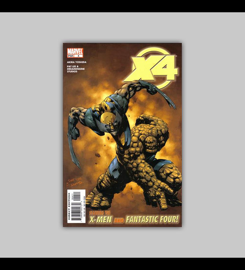 X-Men/Fantastic Four 4 2005