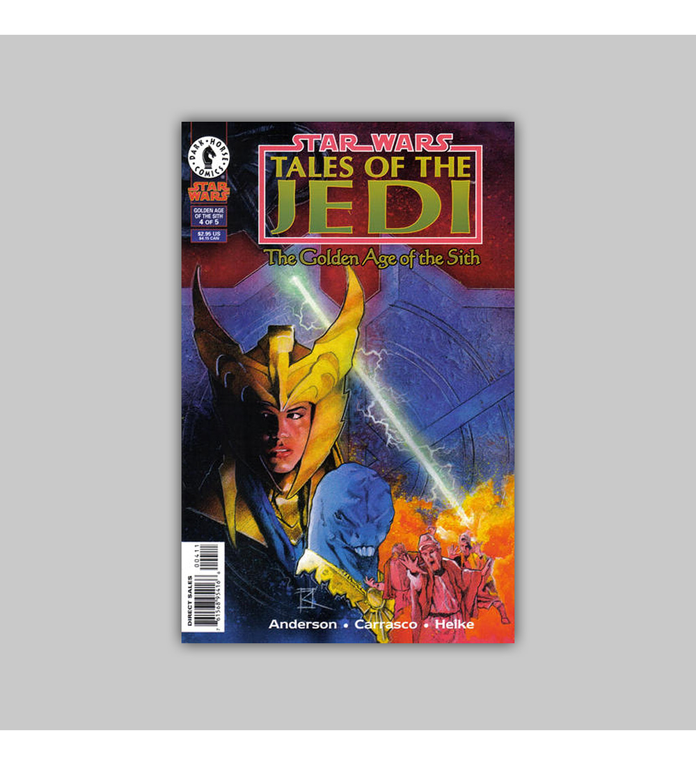 Star Wars: Tales of the Jedi - The Golden Age of the Sith 4 1997