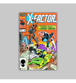 X-Factor 4 1986