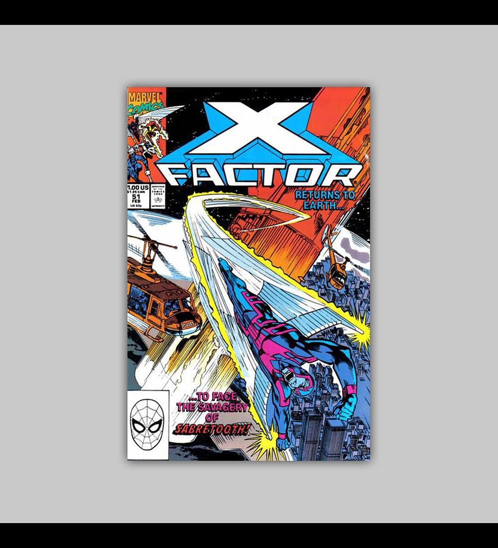 X-Factor 51 1990