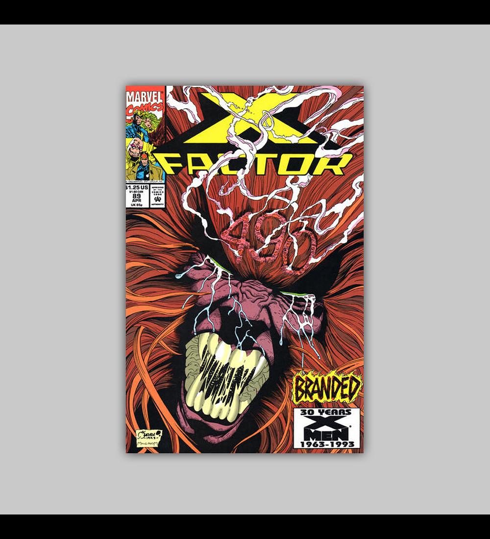 X-Factor 89 1993