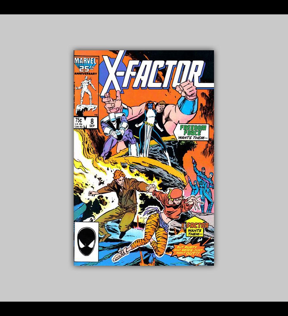 X-Factor 8 1986