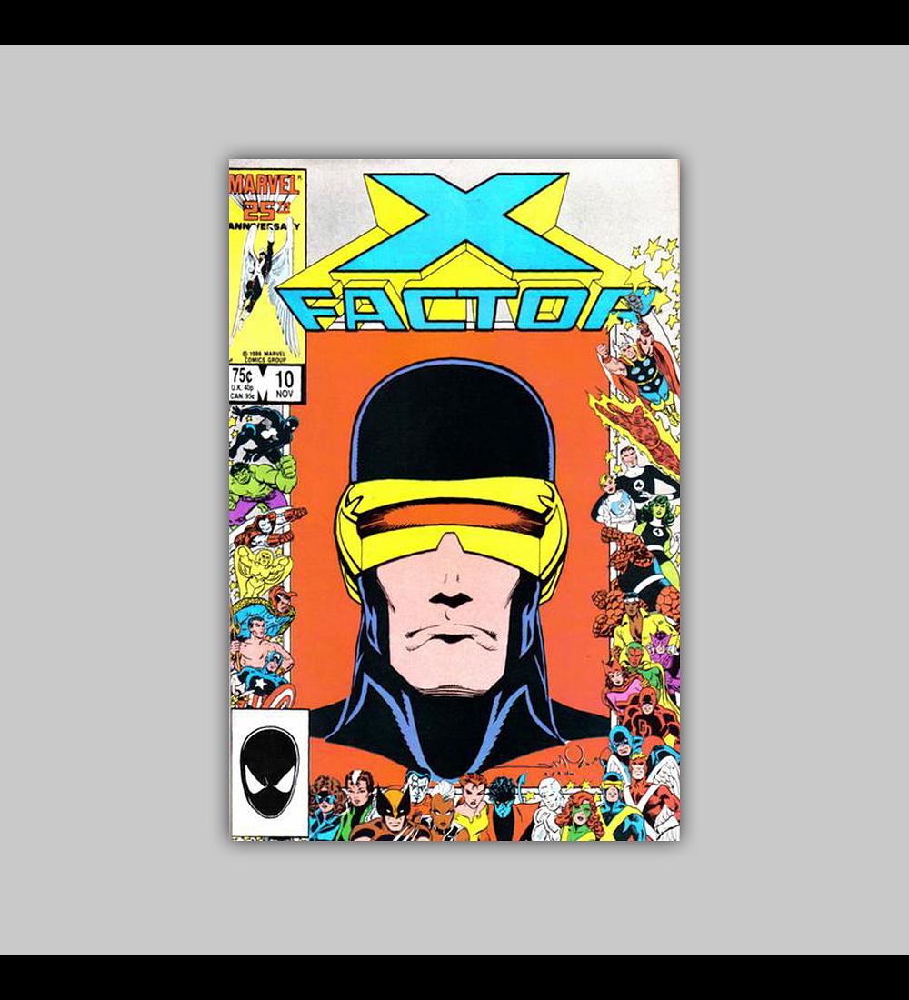 X-Factor 10 1986