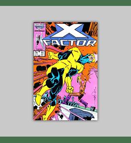 X-Factor 11 1986
