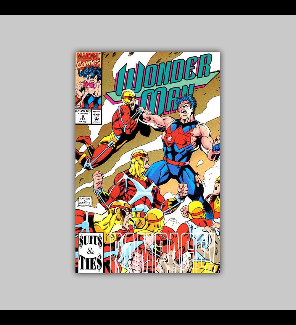 Wonder Man 6 1992