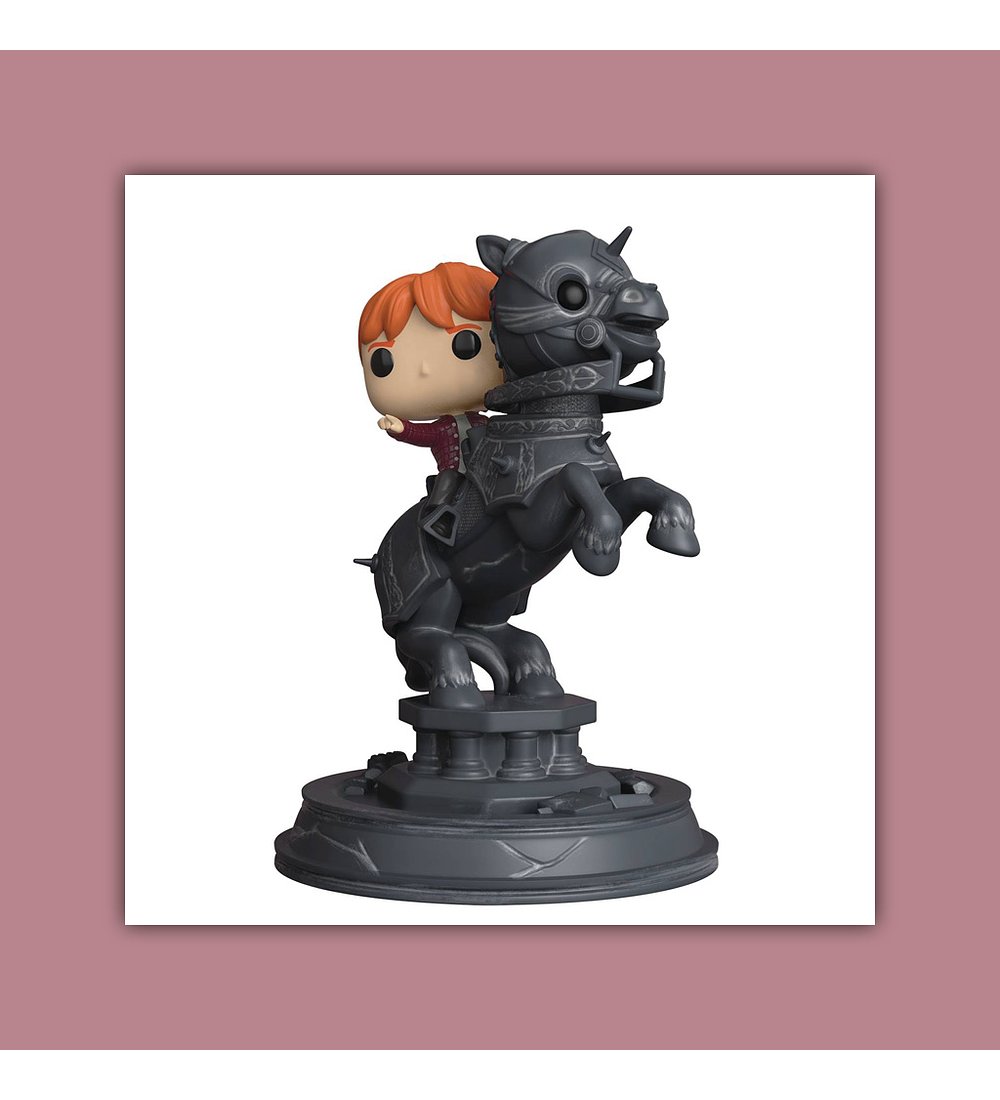 Pop! Movie Moment Harry Potter Vinyl Figure Series 5 Vinyl Figure: Ron and Chess Piece