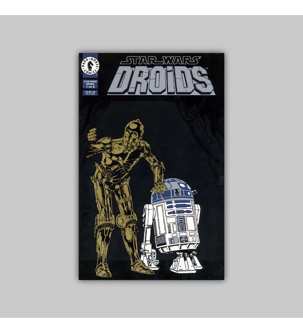 Star Wars: Droids 1 Embossed 1994