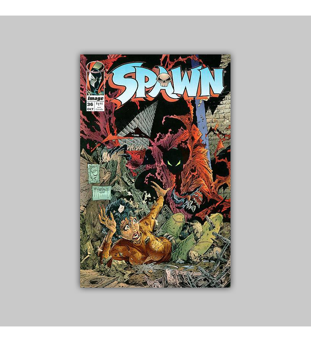 Spawn 36 1995