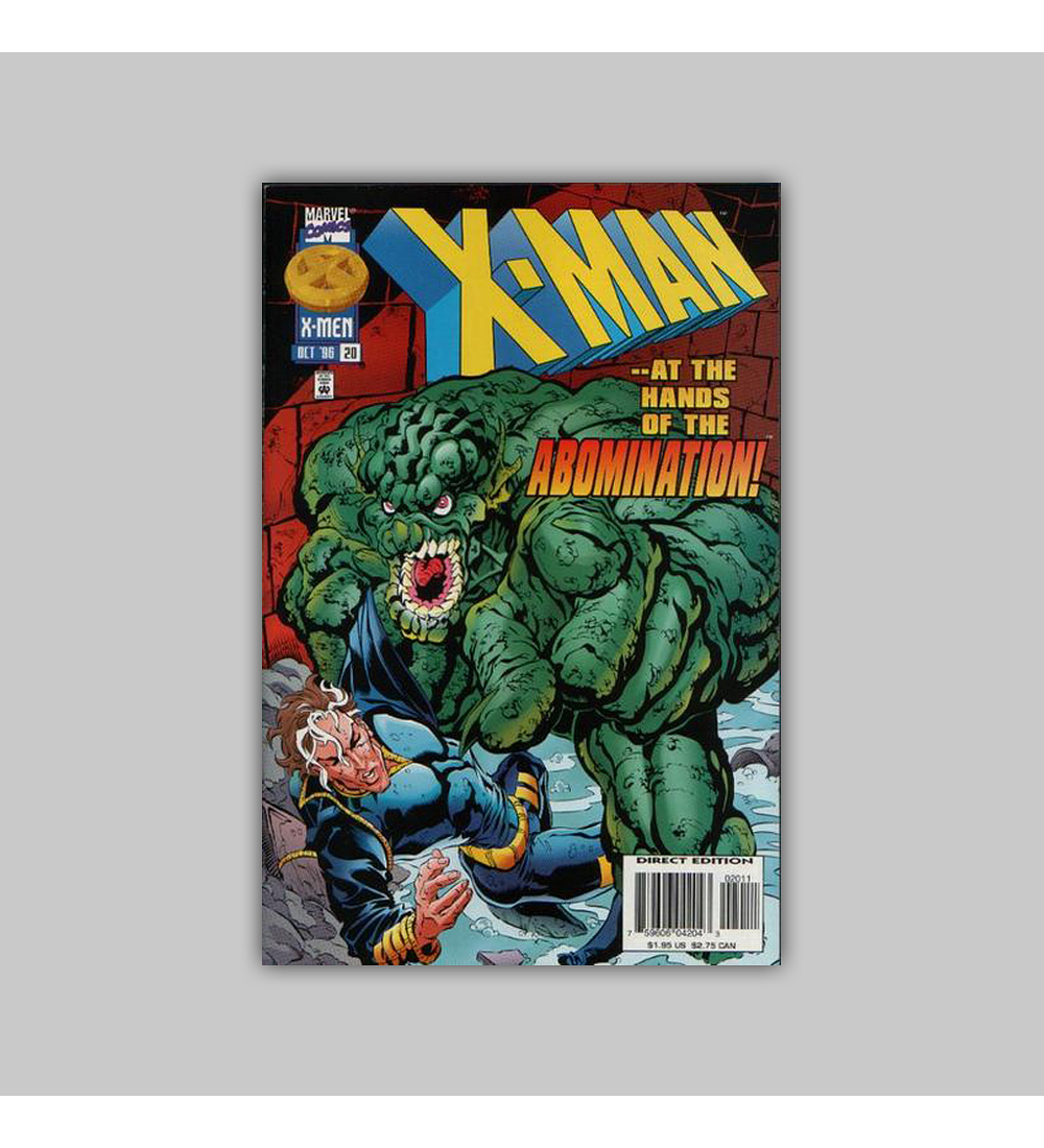 X-Man 20 1996