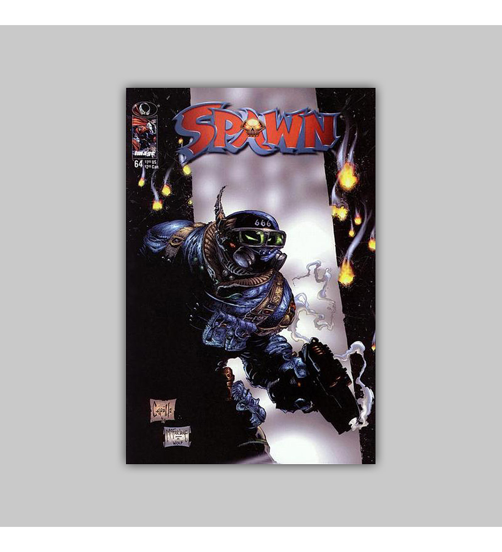 Spawn 64 Polybagged 1997