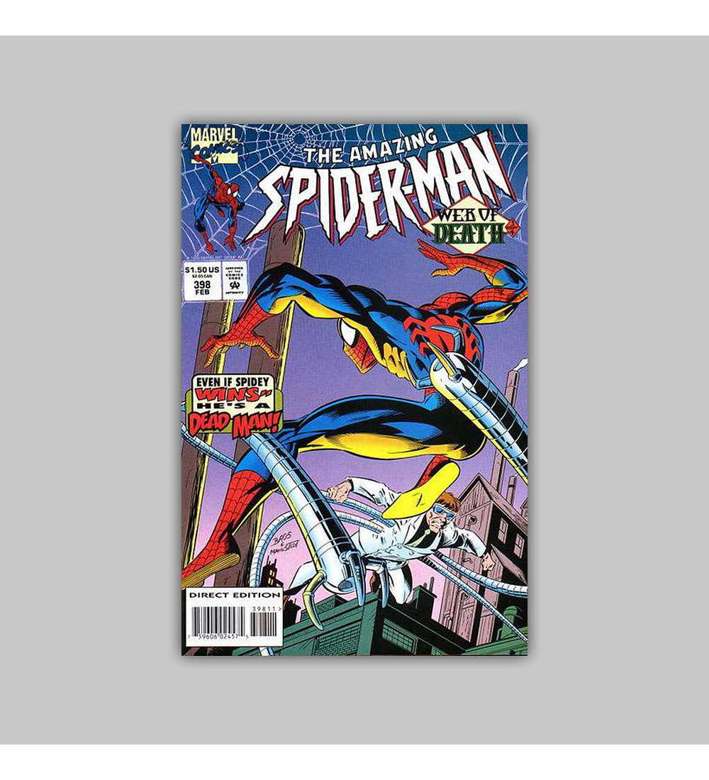 Amazing Spider-Man 398 1995