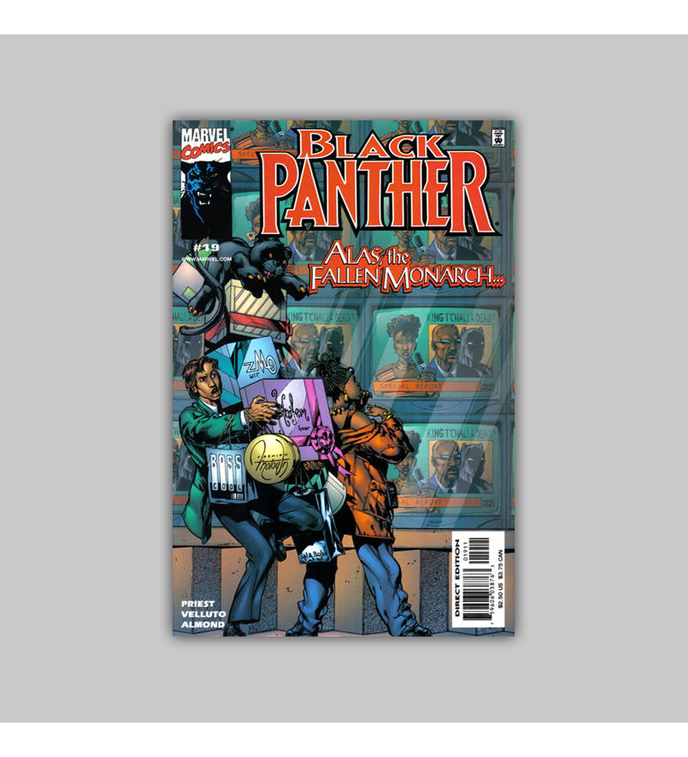Black Panther (Vol. 2) 19 2000