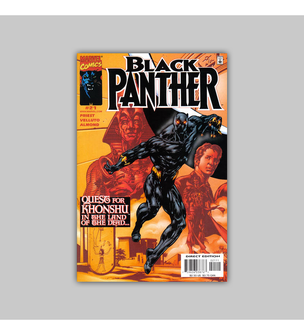 Black Panther (Vol. 2) 21 2000