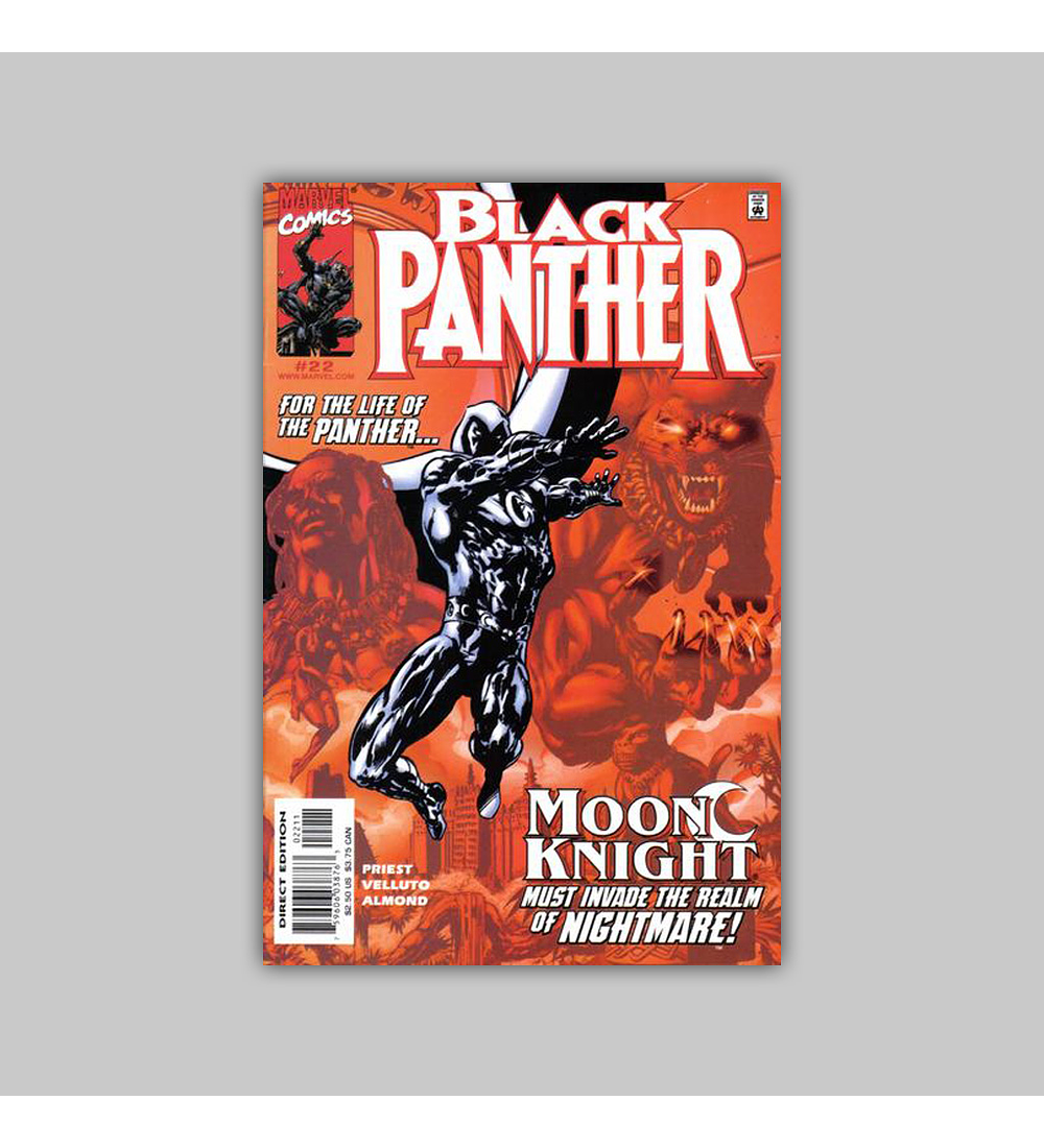 Black Panther (Vol. 2) 22 2000