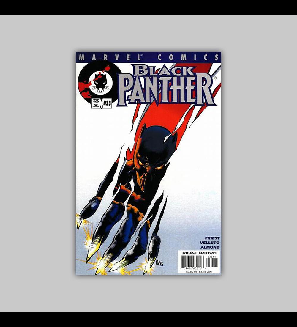 Black Panther (Vol. 2) 33 2001