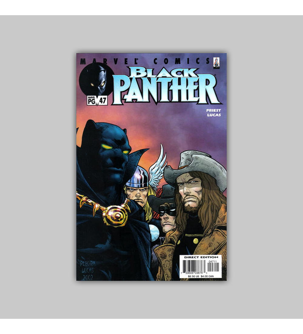 Black Panther (Vol. 2) 47 2002
