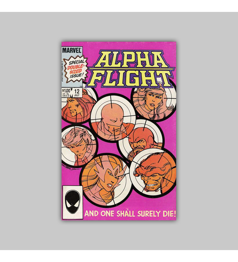 Alpha Flight 12 1984