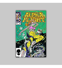 Alpha Flight 14 1984