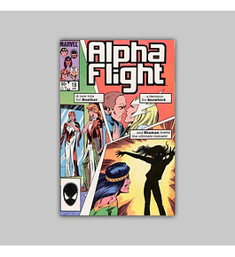 Alpha Flight 18 1985