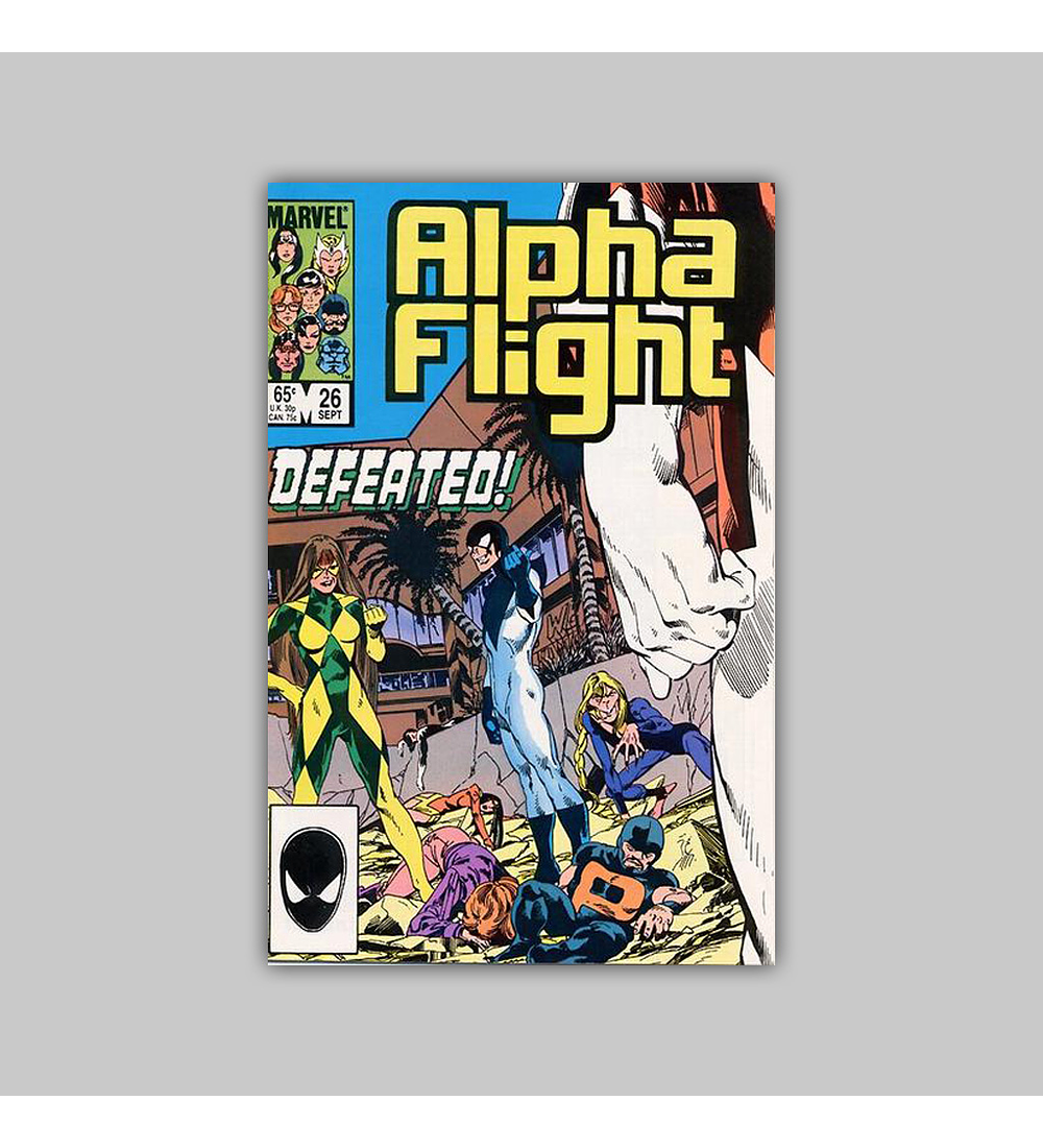 Alpha Flight 26 1985