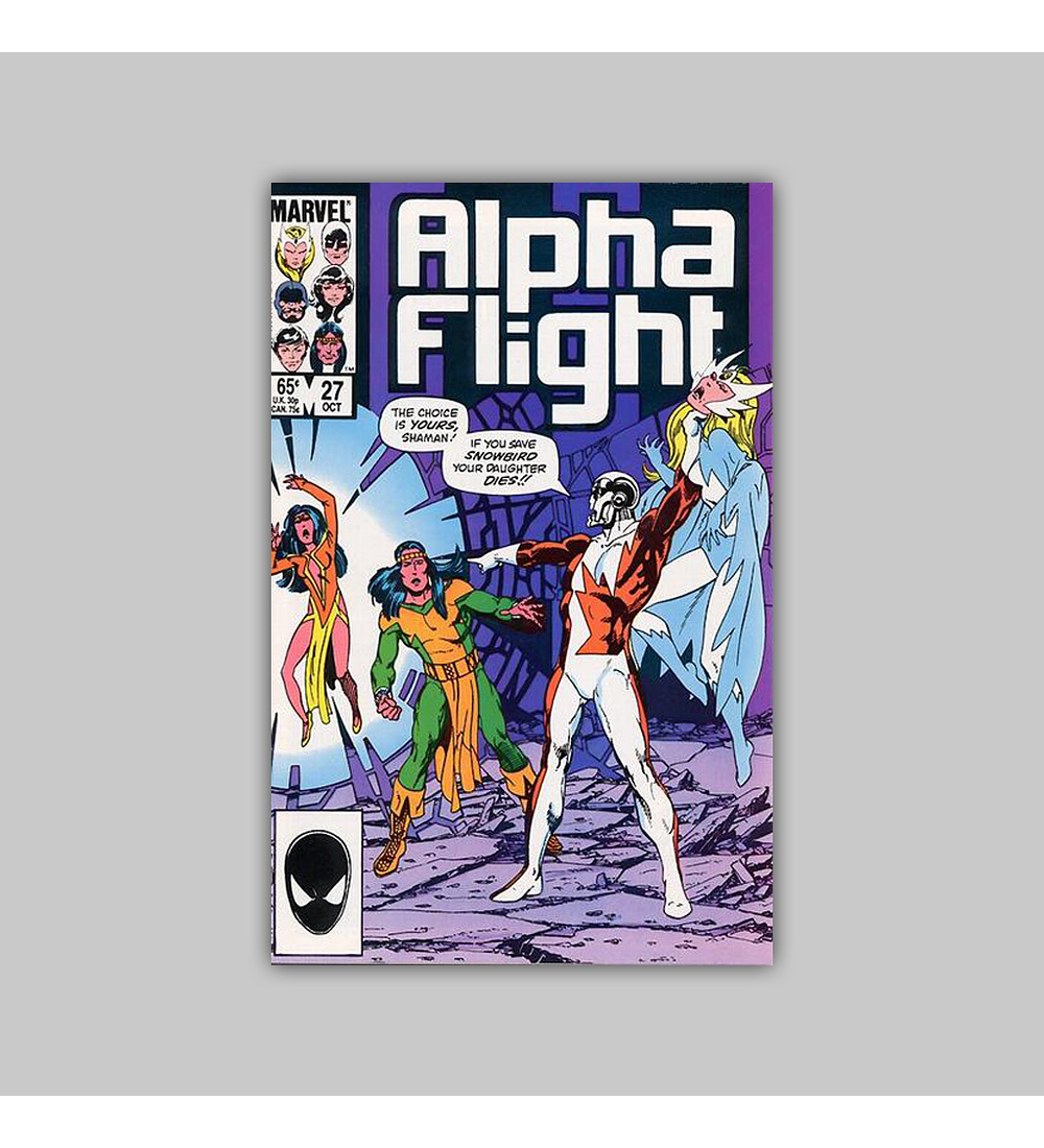 Alpha Flight 27 1985