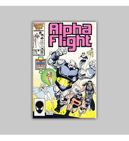 Alpha Flight 36 1986