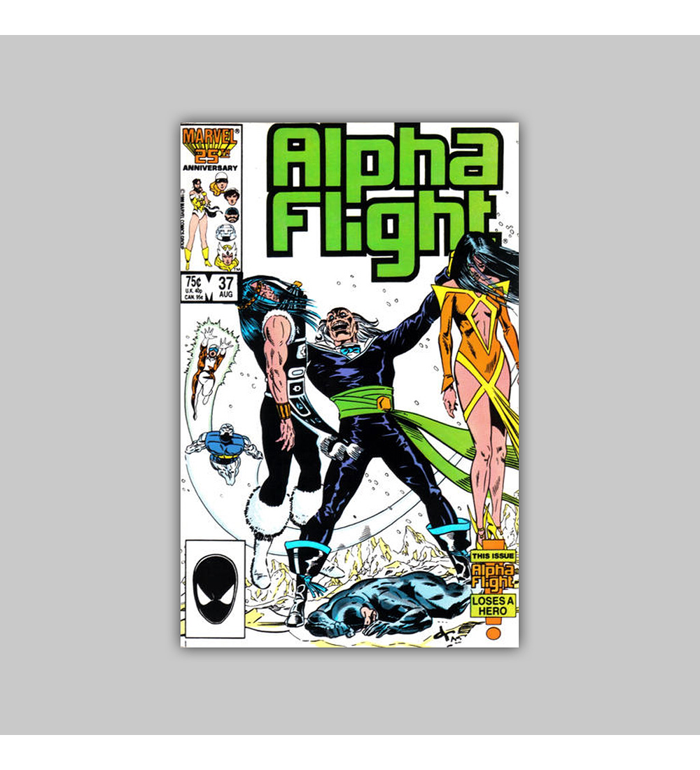 Alpha Flight 37 1986