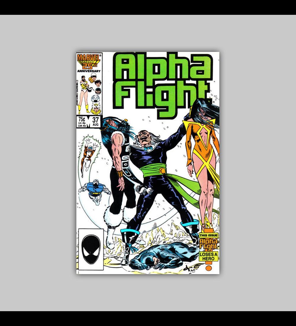 Alpha Flight 37 1986