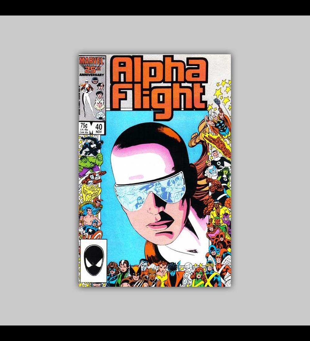 Alpha Flight 40 1986