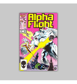 Alpha Flight 44 1987