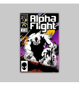 Alpha Flight 45 1987