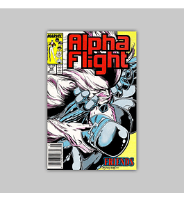 Alpha Flight 46 1987