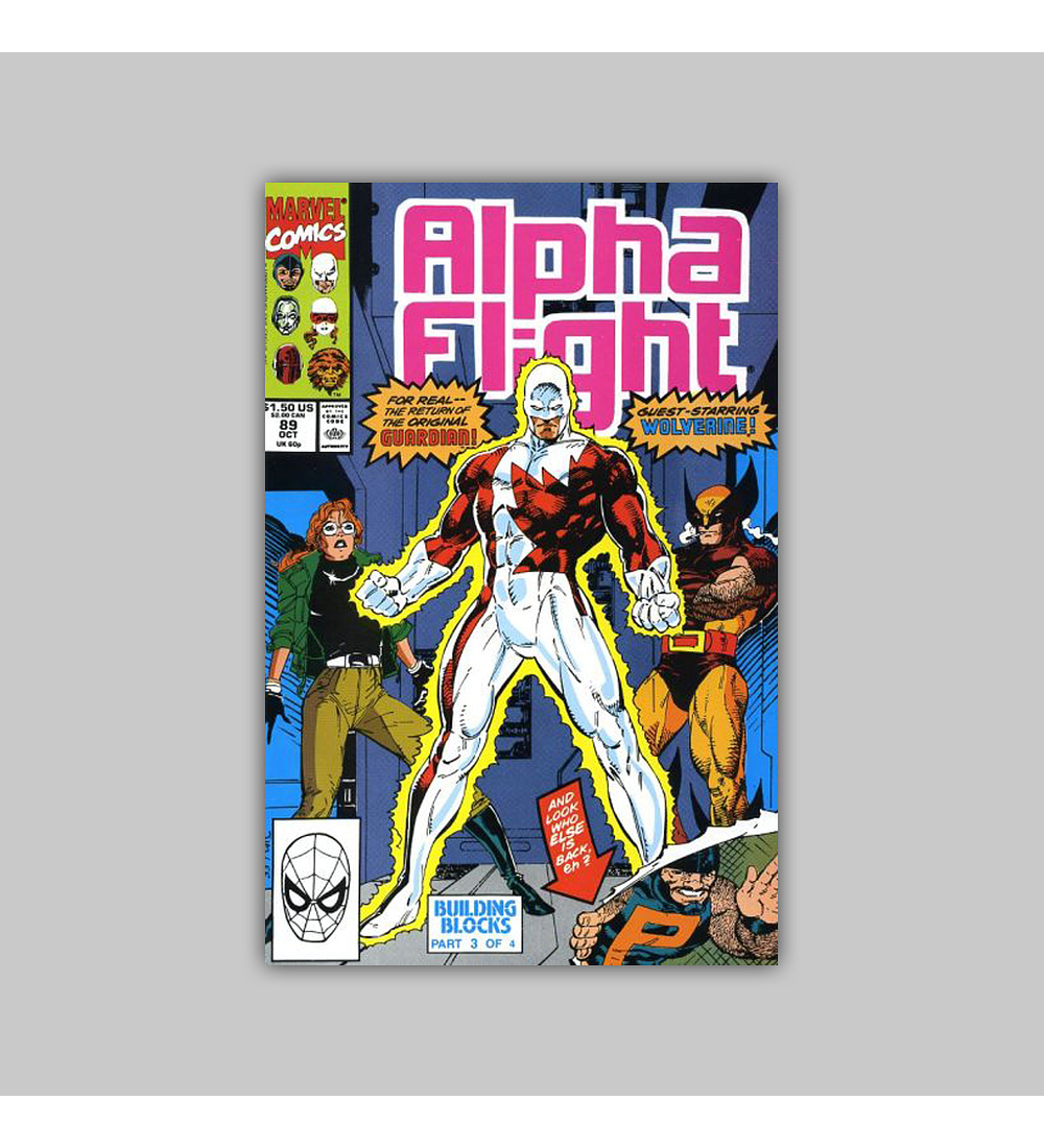 Alpha Flight 89 1990