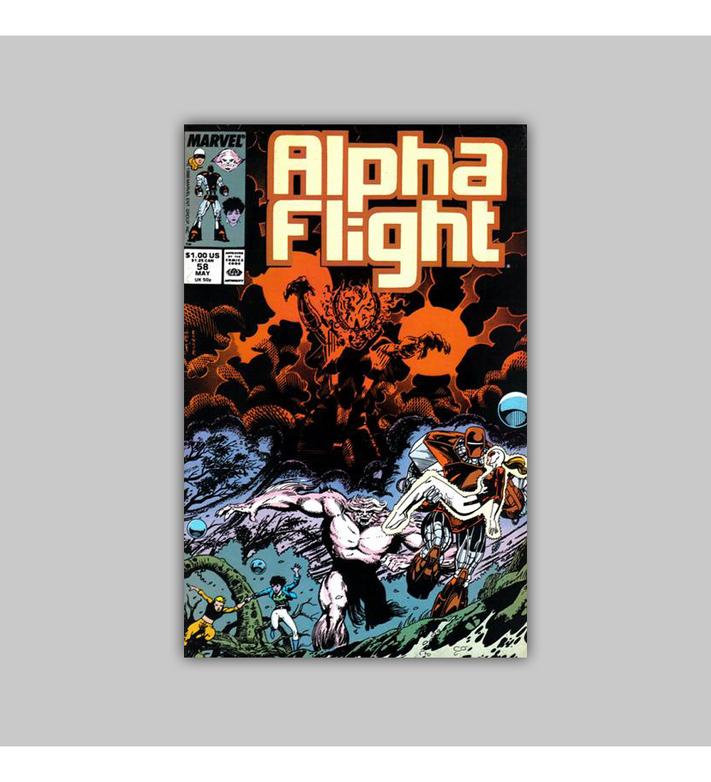 Alpha Flight 58 1988