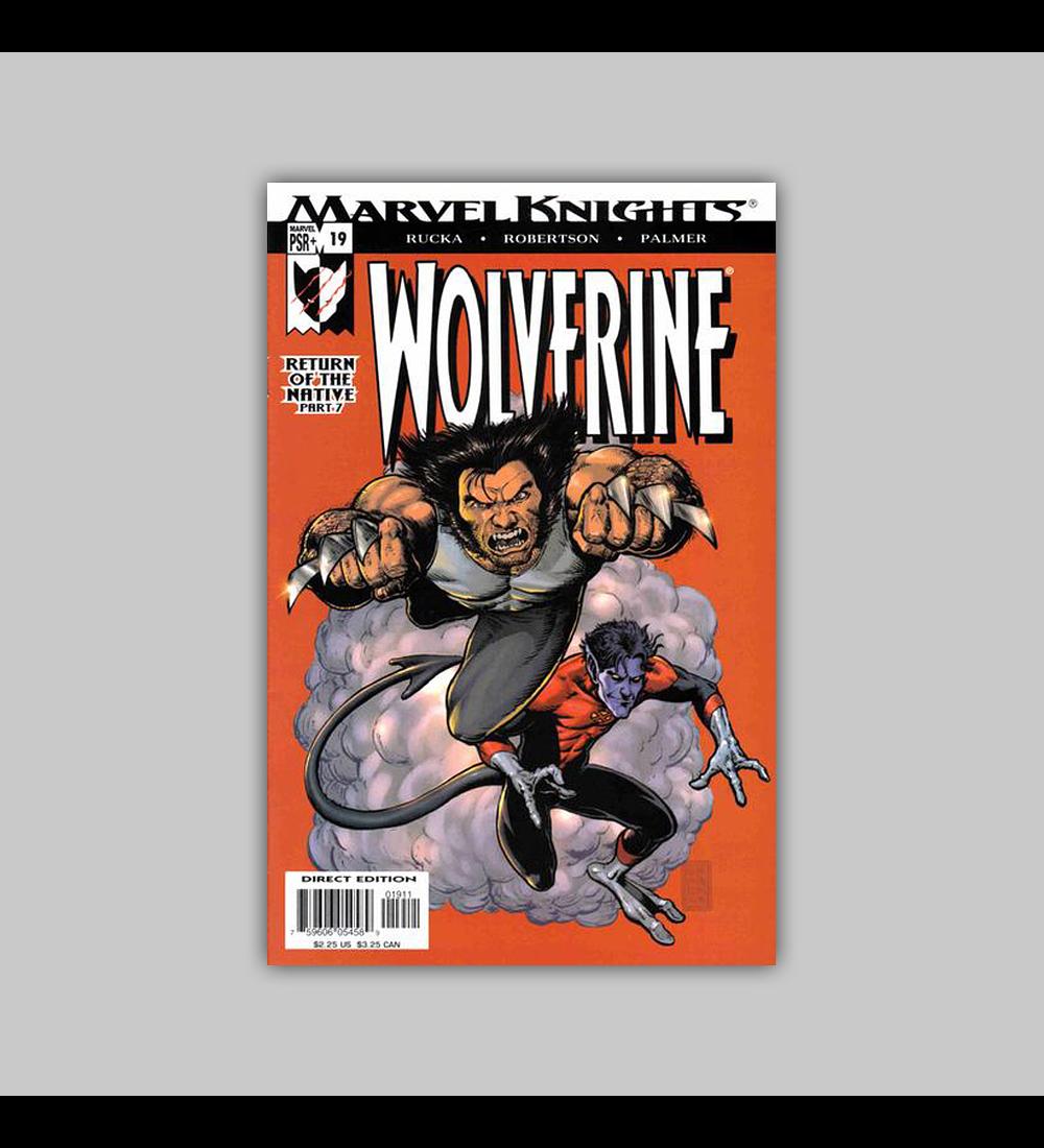 Wolverine (Vol. 2) 19 2004