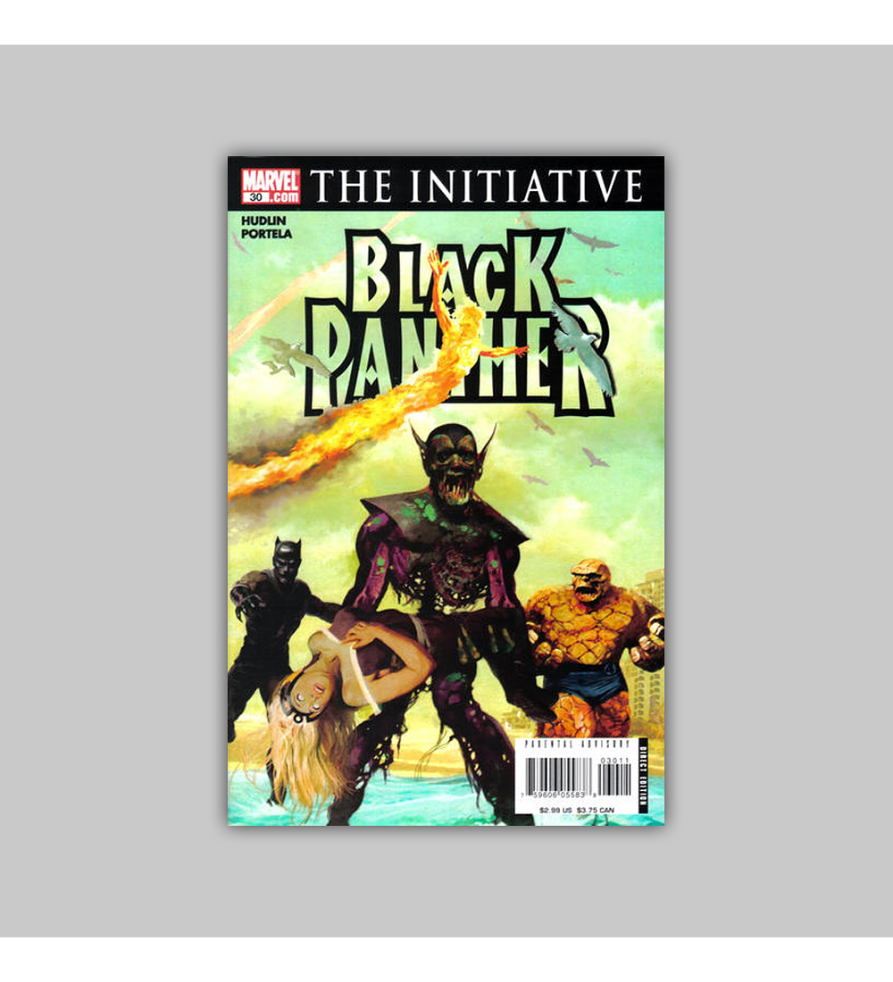 Black Panther (Vol. 3) 30 2007