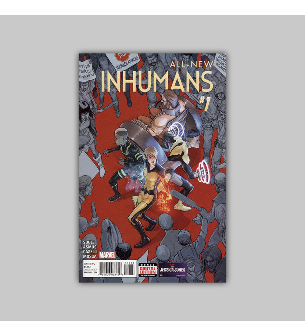 All-New Inhumans 1 2016