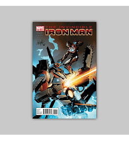Invincible Iron Man 32 2011
