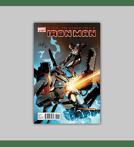 Invincible Iron Man 32 2011