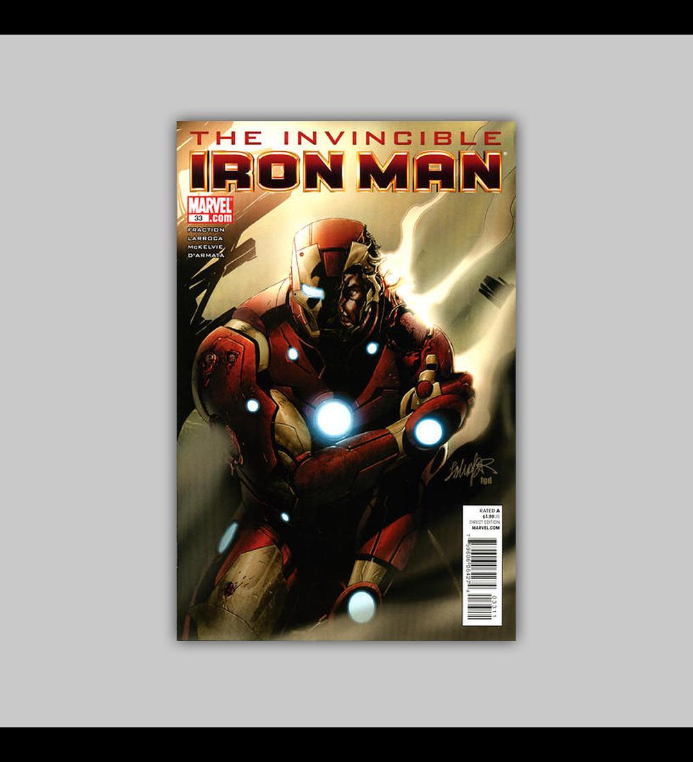 Invincible Iron Man 33 2011
