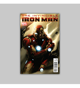 Invincible Iron Man 33 2011