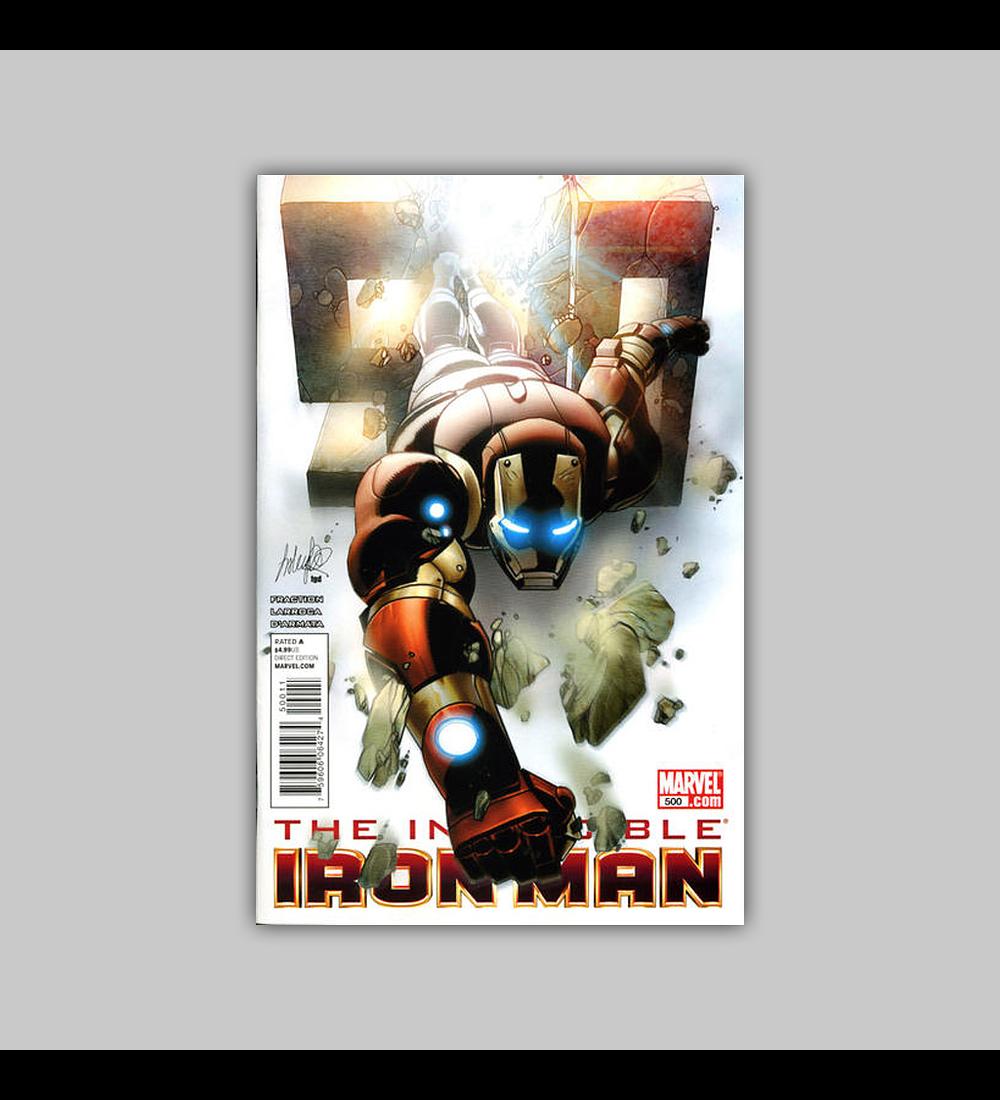 Invincible Iron Man 500 2011