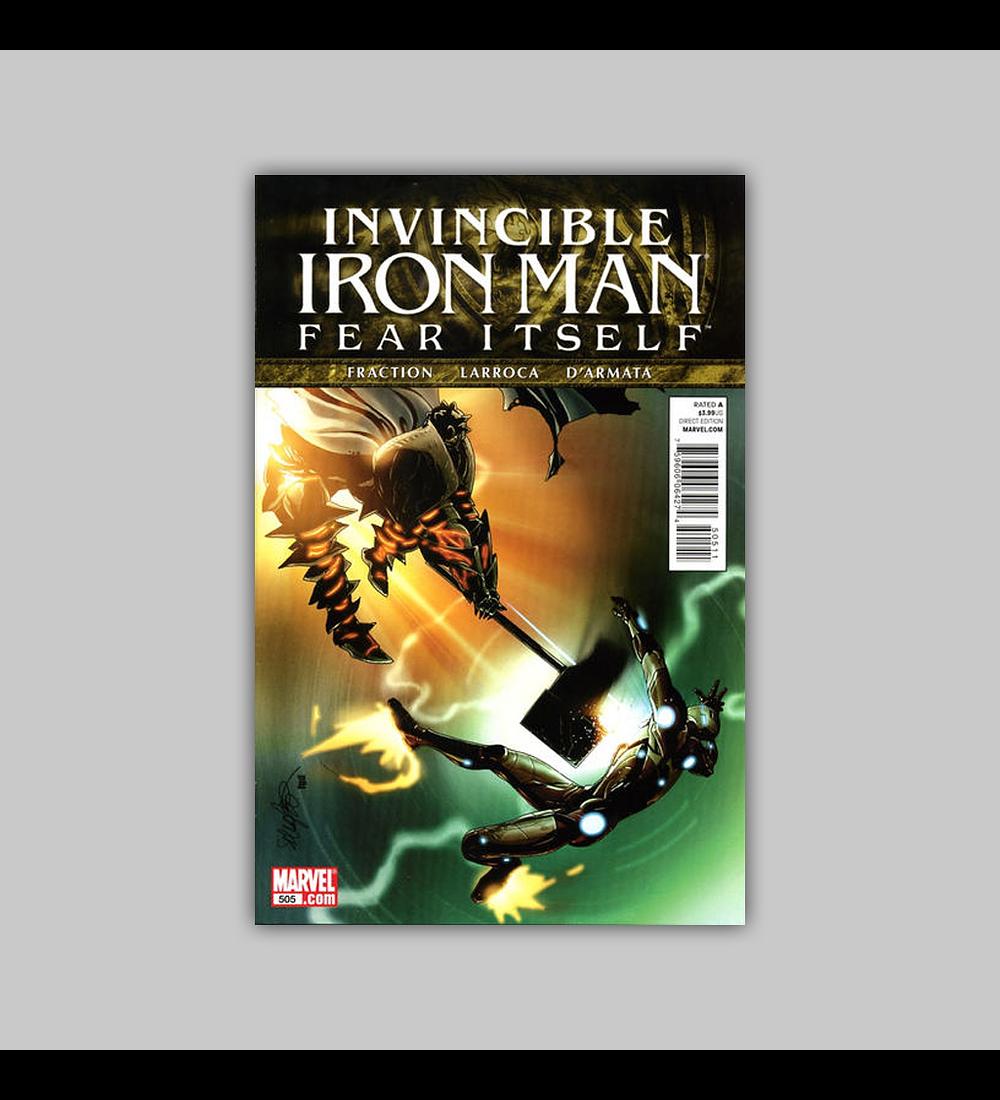 Invincible Iron Man 505 2011