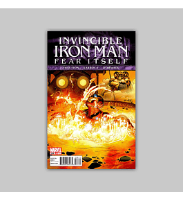 Invincible Iron Man 508 2011